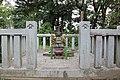 The grave of Takeda Nobutora's wife, Oi-Fujin. Chozeniji temple.jpg