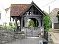 The lych gate of Hullavington church - geograph.org.uk - 1547980.jpg