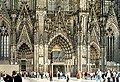 The main (Western) portal of the Cathedral in Cologne.jpg
