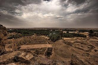 Ancient towns in Saudi Arabia - Ruins of the ancient city of Adummatu.