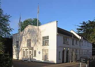 Will Barker - The Lodge as it is today  now renamed the White House