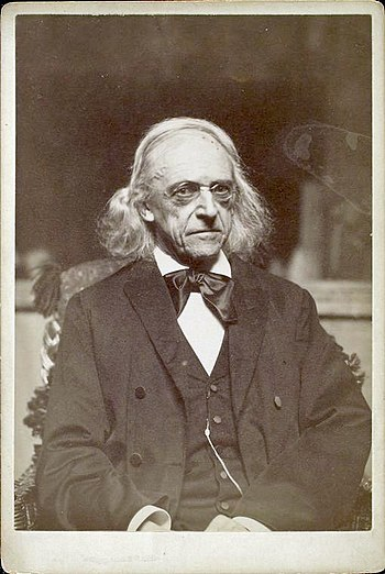 English: Theodor Mommsen, German historian, po...