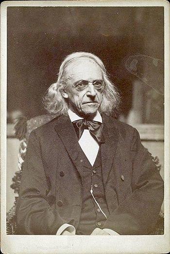 English: Theodor Mommsen, German historian, po...
