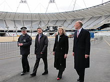 Theresa May visits Olympic Park 2011.jpg