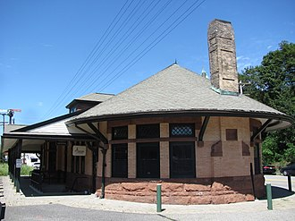 Andover station (MBTA) - Third Railroad Station
