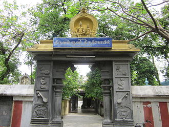 Thiruvalluvar - A temple for Thiruvalluvar in Mylapore