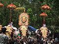 Thiruvambadi varav during Thrissur Pooram 2013 7307.JPG