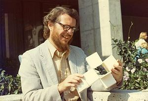 Thomas Banchoff - Thomas Banchoff at Berkeley in 1973 (photo by George Bergman)