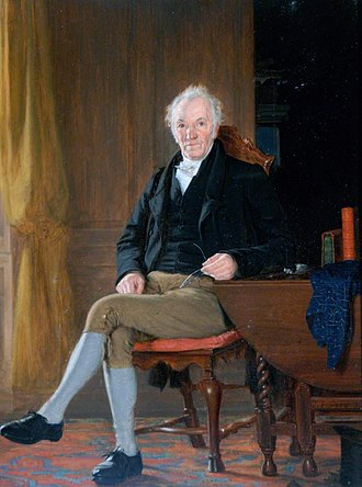 Thomas Bewick - Thomas Bewick in 1827, by Thomas Sword Good