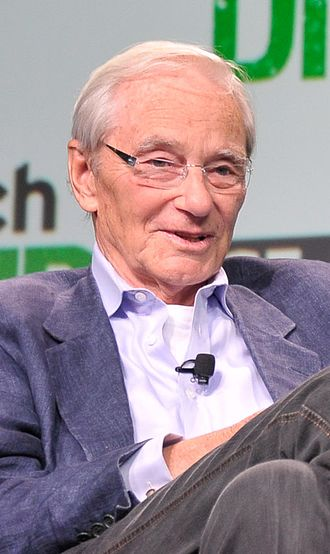 Thomas Perkins (businessman) - Perkins speaking at TechCrunch in San Francisco in 2013