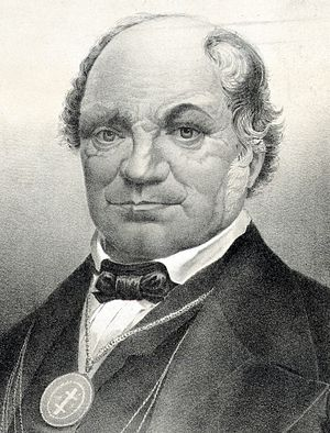 Independent Order of Odd Fellows - British-American Thomas Wildey (1782–1861) founder of the Washington Lodge No 1