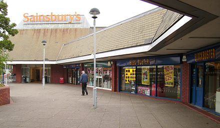 Former Thornhill Shopping Centre (now a renovated Sainsbury's) Thornhill Centre Cardiff.jpg