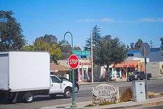 Thousand Oaks Boulevard Street in the Ventura County, California