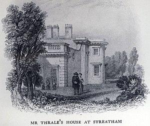 Hester Thrale - Streatham Park