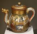 Three-piece Tea Service, 2 of 2, Japan, undated, earthenware with overglaze and gold - Chazen Museum of Art - DSC02402.JPG