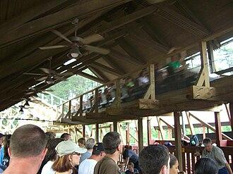 Thunderhead (roller coaster) - Image: Thunderhead (Dollywood) 04