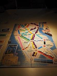 Ticket To Ride Board Game Wikipedia