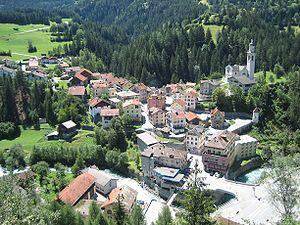 Tiefencastel - Image: Tiefencastel Dorf