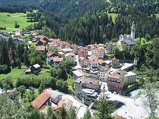 Tiefencastel Former municipality of Switzerland in Graubünden