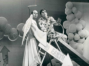 Tim Conway - Conway as an angel with Robert Morse on That's Life, 1968