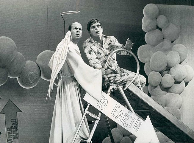 Tim Conway and Robert Morse - 1968.jpg