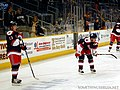 Tim Kennedy and Wade Redden - Hartford Wolf Pack.jpg