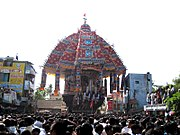 Tiruvarur temple car festival 2010