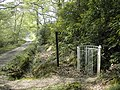To a path on the Hamptworth Estate - geograph.org.uk - 417322.jpg