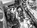 To the Rescue on Board HMS Manchester. July 1941, on Board the Cruiser After She Had Been Torpedoed While on Convoy Duty in the Mediterranean. A4892.jpg