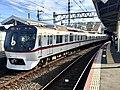 Toei Series 5300 5320F 60th anniversary headmark in Keisei-Takasago Station.jpg
