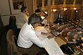 Tolkar i arbete (Bilden ar tagen vid Nordiska radets session i Oslo, 2003) (1).jpg