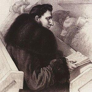 Tomasz Zan - Tomasz Zan, in a drawing by R. Żukowski (1825–1855)