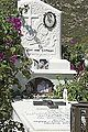 Tomb in cemetery of Moni on Naxos from year 2008, 085216.jpg