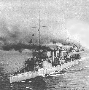 Finnish torpedo boat S2 - The torpedo boat S2 with her sister ships