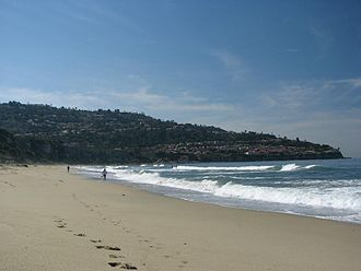 Torrance, California - Torrance Beach lies between the Palos Verdes Peninsula and Redondo beach on the Santa Monica Bay.