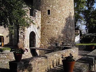 Parets del Vallès - Entrance of Torre de Cellers