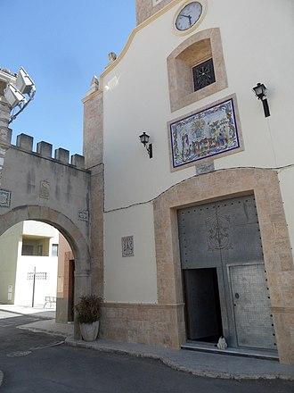Torrella - Image: Torrella. Església 3 i arc