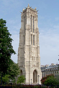 Tour Saint-Jacques, Paris May 2010.jpg