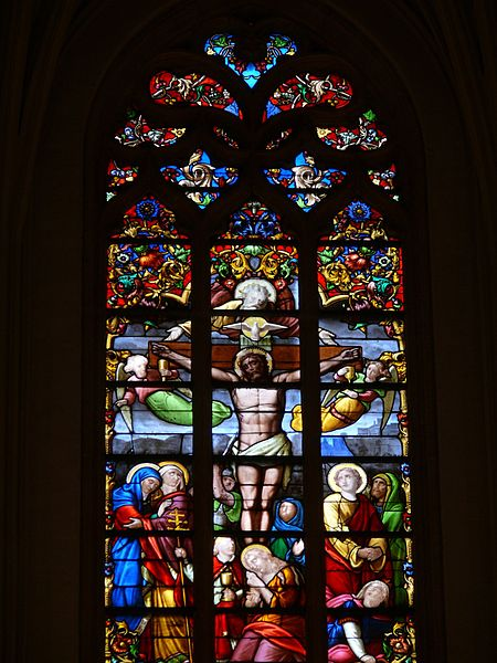 Saint-Christophe's church of Tourcoing (Nord, France).