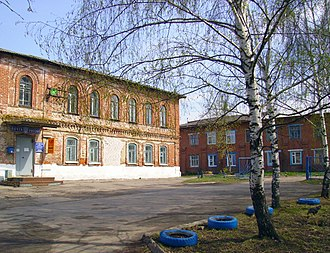 Knyagininsky District - Post office building in Knyaginino, the administrative center of the district