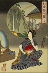 Toyohara Chikanobu - Japanese Inn at Hot Springs - Google Art Project.jpg