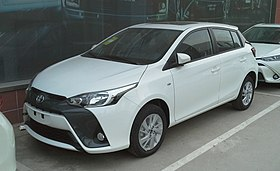Toyota Yaris L hatch facelift 01 China 2018-03-20.jpg