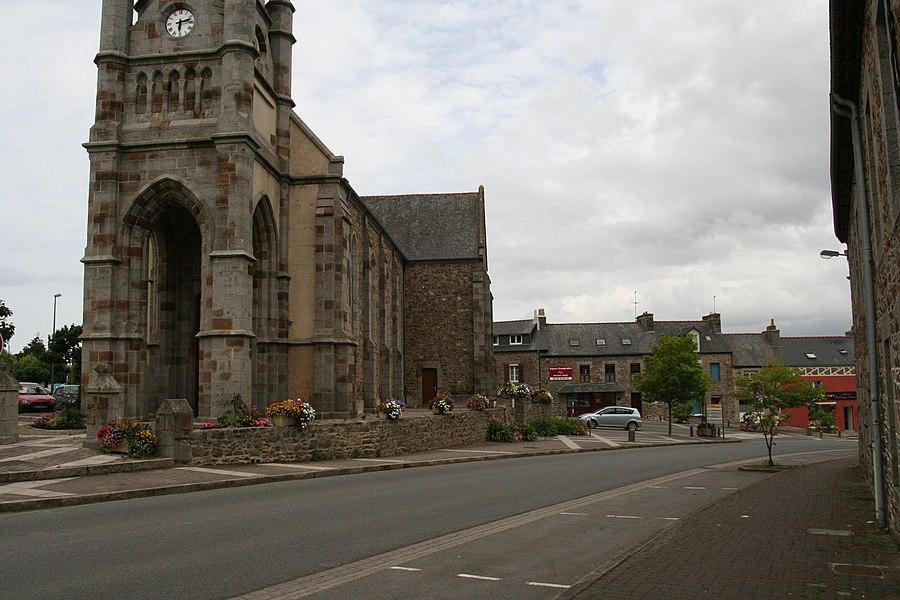 L'église de Trémuson.
