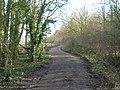 Track beside Halloughton Wood - geograph.org.uk - 1760080.jpg