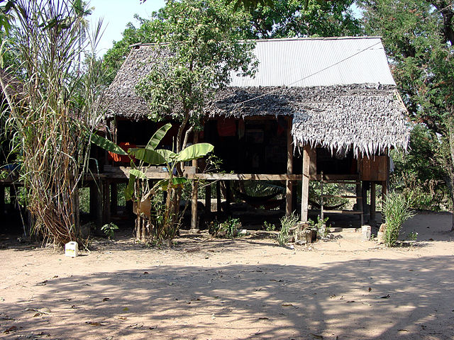 Traditional House Cambodia