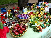 Easter is in the air families all over are gearing up for Easter Sunday. traditional easter eggs in croatia