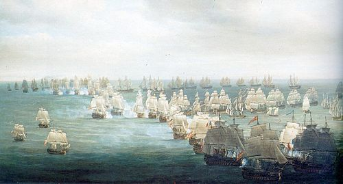 Trafalgar Battle, situation at 13h Trafalgar1.jpg