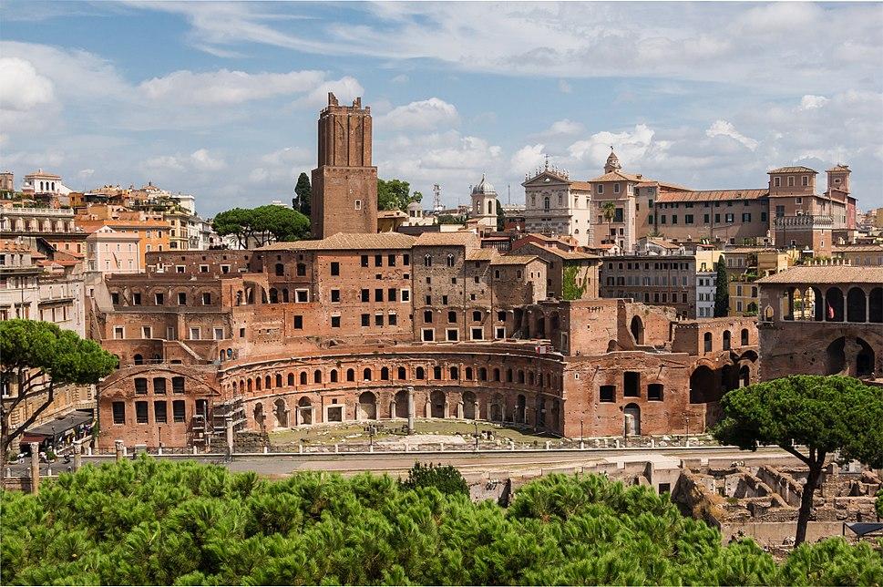 Trajan%27s Market, Rome, Italy