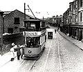Tram South Shields, Tram 3 on the Tyne Dock to Pierhead Route pre 1938.jpg