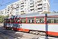Tram in Sofia in front of Tram depot Banishora 020.jpg